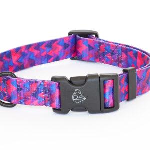 Obroża dla psa z klamrą DURAFLEX, kolekcja Shine in Purple