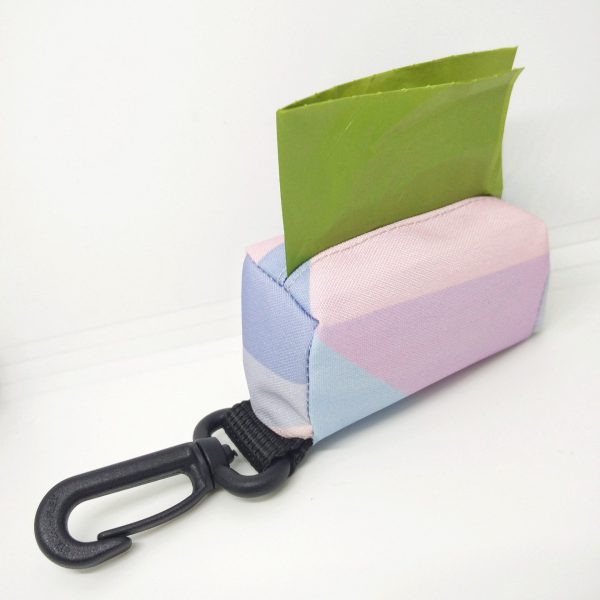 Kupownik, torebka na woreczki do sprzątania po psie, kolekcja Candy Blue