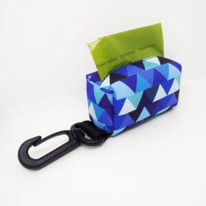 Kupownik, torebka na woreczki do sprzątania po psie, kolekcja Shine in Blue