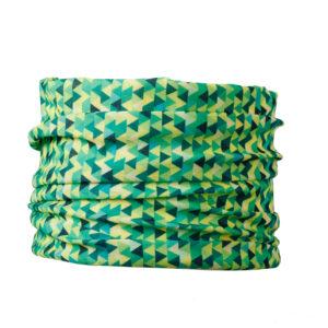 bandama dla psów chusta komin dla psa zielona