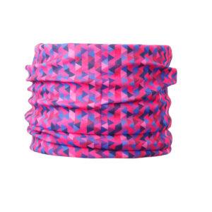 chusta komin dla psa różowa bandamka