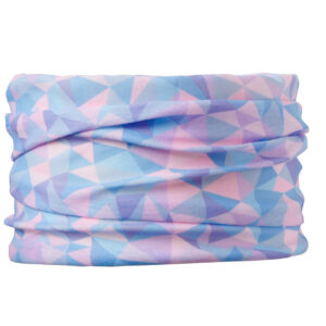 design komin chusta moda dla psa candy blue