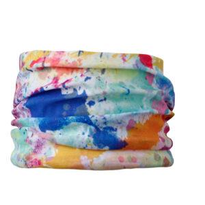 ozdobne chustki dla psów splash kolorowe